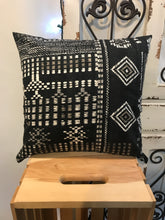 "Load image into Gallery viewer, 18"" Bohemian Black & White Pillow Covers - InRugCo Studio & Gift Shop"