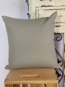 "18"" Gray & White Medallion Pillow Covers - InRugCo Studio & Gift Shop"