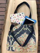 Load image into Gallery viewer, Feather Market Bag w/Snap Closure - InRugCo Studio & Gift Shop