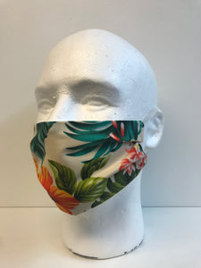 Hawaiian Flora | Basic Fabric Face Mask - InRugCo Studio & Gift Shop