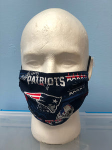 New England Patriots | Basic Fabric Face Mask