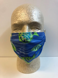 Tie Dyed Fish Print | Basic Fabric Face Mask - InRugCo Studio & Gift Shop