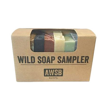 a wild soap bar sampler
