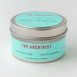 amber honeysuckle archivist candle