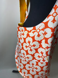 Orange Celtic Apron | Aunt Erma Apron - InRugCo Studio & Gift Shop