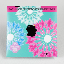 Load image into Gallery viewer, Bachelor Buttons Polka Dot Mix | Hudson Valley Seed Co. - InRugCo Studio & Gift Shop