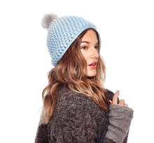 Load image into Gallery viewer, beanie nirvana designs model