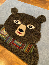 Load image into Gallery viewer, bear area rug inrugco