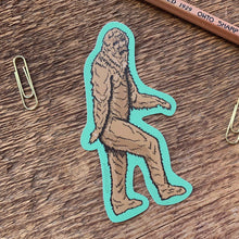 Load image into Gallery viewer, bigfoot sticker noteworthy paper
