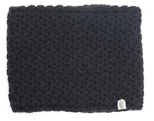 Load image into Gallery viewer, black neck warmer nirvana designs