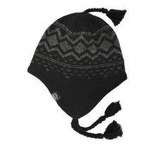 Load image into Gallery viewer, black ragwool Peruvian hat