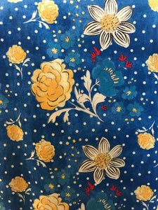 Blue & Yellow Flowers Apron - InRugCo Studio & Gift Shop