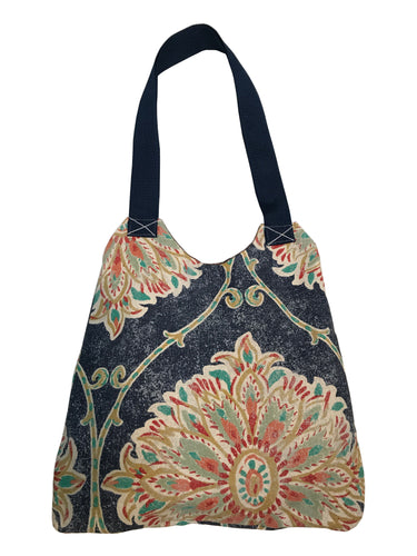 Feather Market Bag w/Snap Closure - InRugCo Studio & Gift Shop