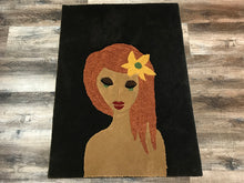 Load image into Gallery viewer, Bohemian Girl Area Rug - InRugCo Studio & Gift Shop