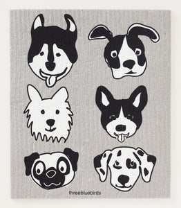 bow wow Swedish dishcloth