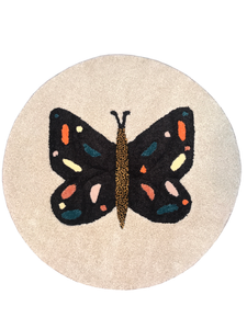Butterfly Area Rug - InRugCo Studio & Gift Shop