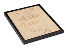Load image into Gallery viewer, Patent Art - Canoe | Wood Chart - InRugCo Studio & Gift Shop