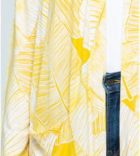 Load image into Gallery viewer, Open Cardigan | Palm Yellow - InRugCo Studio & Gift Shop