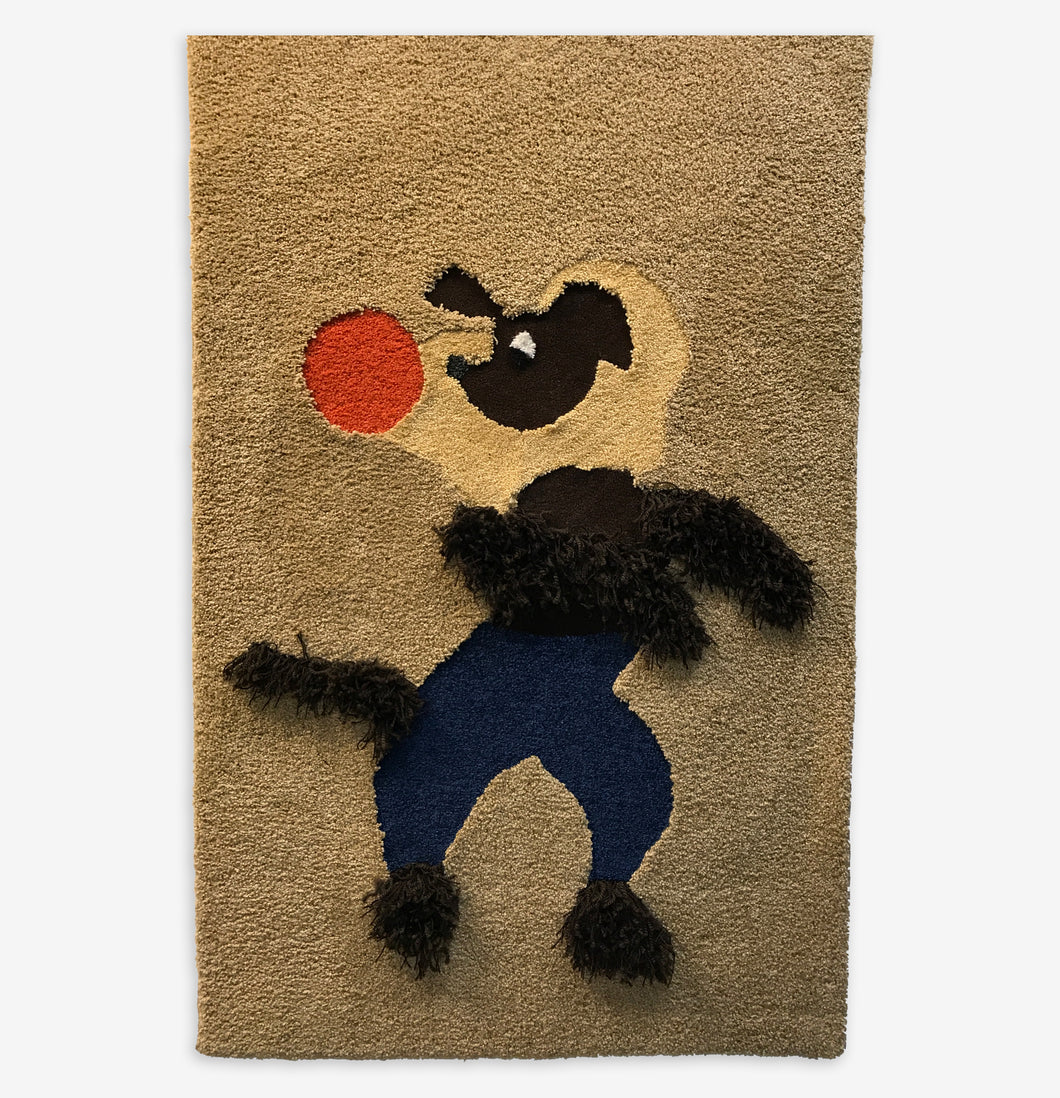Circus Dog Area Rug - InRugCo Studio & Gift Shop