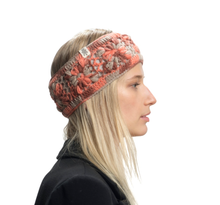Load image into Gallery viewer, Orchid & Grey | Flower Crochet Headband