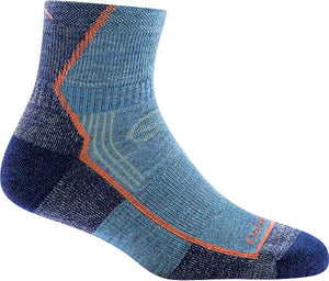 Hiker 1/4 Sock Cushion - Women's - Denim | Darn Tough - InRugCo Studio & Gift Shop
