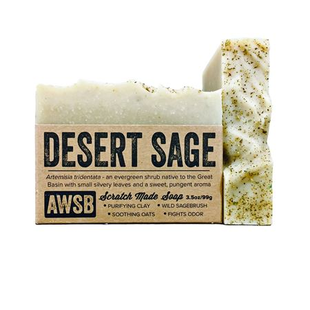 desert sage a wild soap bar