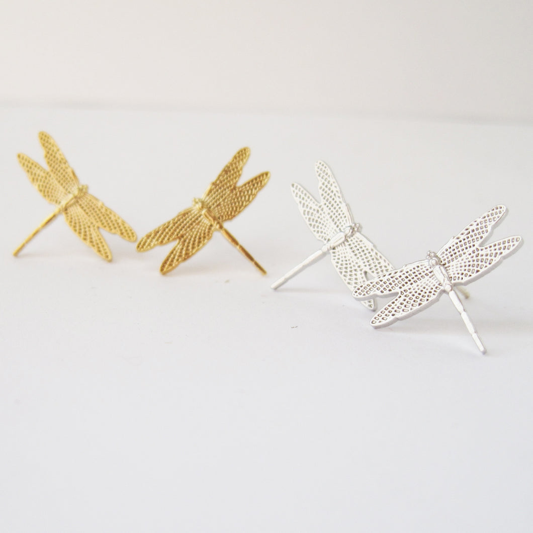 dragonfly post earrings