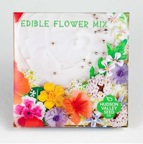 Edible Flower Mix | Hudson Valley Seed Co. - InRugCo Studio & Gift Shop