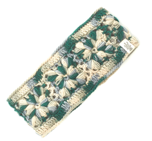 Load image into Gallery viewer, emerald crochet headband nirvana designs