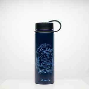 explore and be wild liberty bottle 20oz