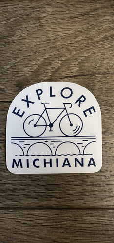 explore Michiana sticker