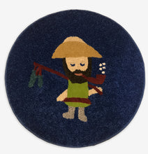 Load image into Gallery viewer, Ol' Fisherman Area Rug - InRugCo Studio & Gift Shop