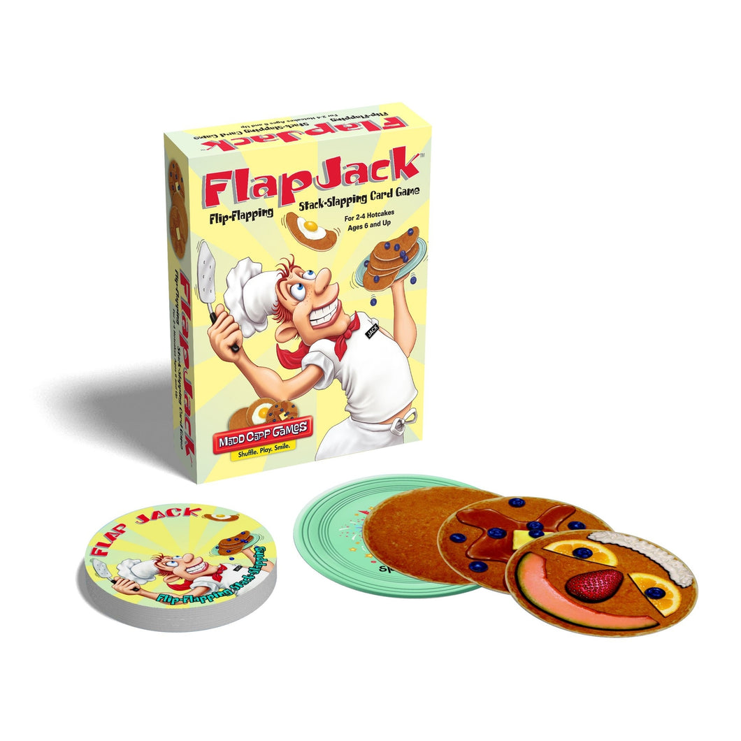 flap jack madd Capp card games