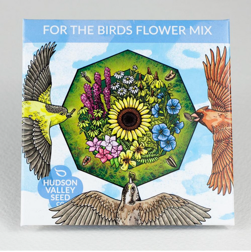 For the Birds Flower Mix | Hudson Valley Seed Co. - InRugCo Studio & Gift Shop