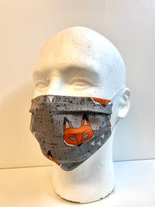 Fox | Basic Fabric Face Mask - InRugCo Studio & Gift Shop