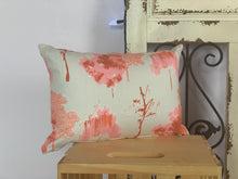 "Load image into Gallery viewer, Lumbar (12"" x 16"") Coral Abstract Foliage Pillow Covers - InRugCo Studio & Gift Shop"