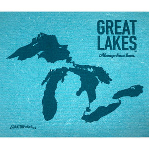 Great Lakes dishcloth