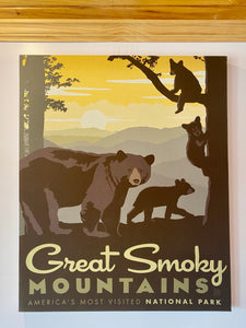 great smoky mountains national park art