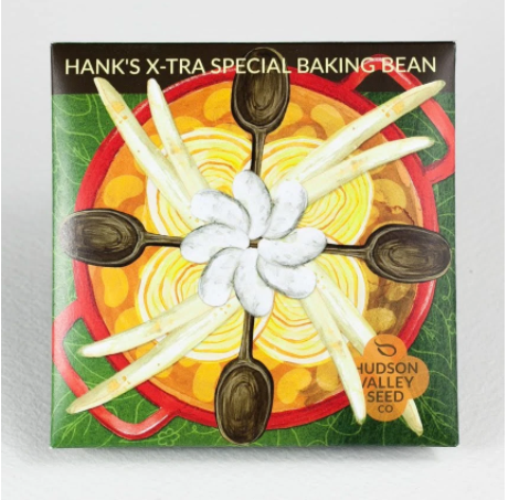 Hank's X-Tra Special Baking Bean | Hudson Valley Seed Co. - InRugCo Studio & Gift Shop