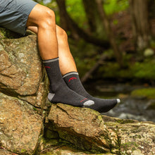 Load image into Gallery viewer, hiker micro cushion black darn tough