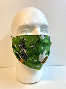 hole in one face mask