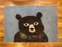 Load image into Gallery viewer, holiday bear area rug inrugco