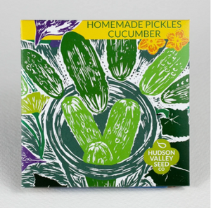 Homemade Pickles Cucumber | Hudson Valley Seed Co. - InRugCo Studio & Gift Shop