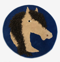 Load image into Gallery viewer, Horsin' Around Area Rug - InRugCo Studio & Gift Shop