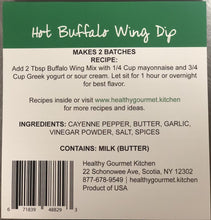 Load image into Gallery viewer, hot buffalo wing dip backside healthy gourmet kitchen