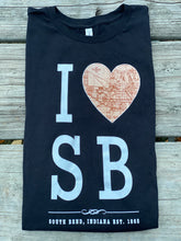 Load image into Gallery viewer, I love sb t shirt