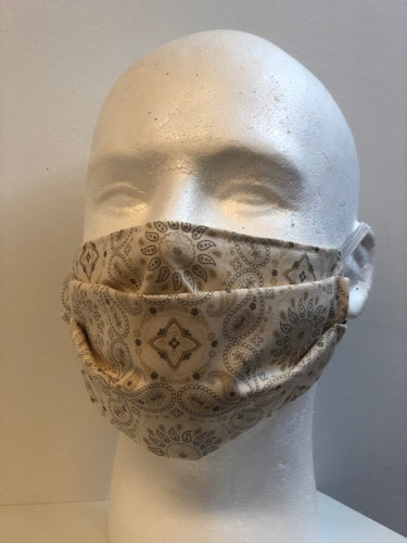 Tan Bandana Face Mask | InRugCo Studio & Gift Shop - InRugCo Studio & Gift Shop