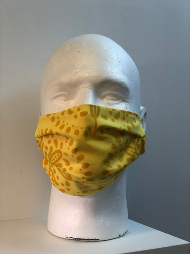 Gypsy Yellow Face Mask | InRugCo Studio & Gift Shop - InRugCo Studio & Gift Shop