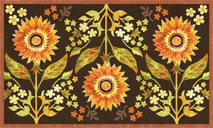 Indian summer floral flair 3x5