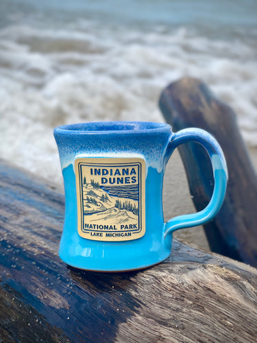 indiana dunes national park coffee mug